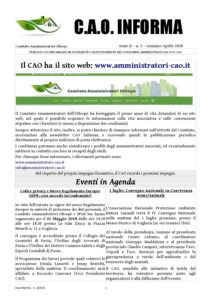CAO Informa n. 3